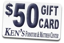 Ken's Furniture and Mattress Center Gift Card
