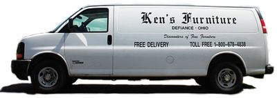 Ken's Furniture Delivery Van