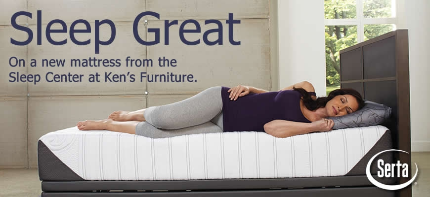 A great night's sleep from the Mattress Center at Ken's