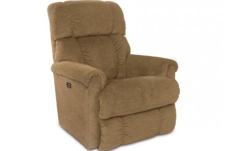 Pinnacle Rocking Recliner w/ Head Rest & Lumbar