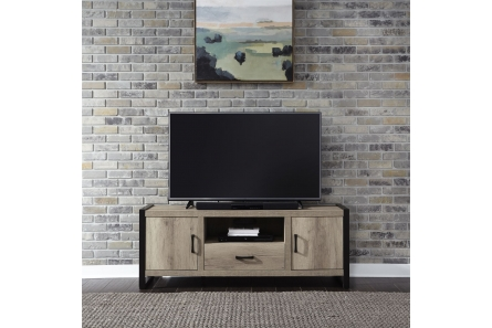 Sun Valley 64 Inch TV Console w/ Faux Metal