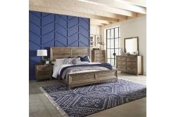 Ridgecrest Queen Panel Bed, Dresser & Mirror, Chest, Night Stand