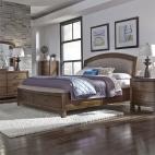 Avalon Storage Bed, Dresser & Mirror, Chest, NS