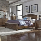 Avalon Panel Storage Bed, Dresser & Mirror, Chest, NS