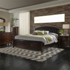 Avalon Storage Bed, Dresser & Mirror, Chest, NS
