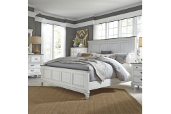 Allyson Park Panel Bed, Dresser & Mirror, Chest, NS