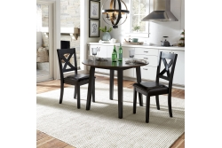 Thornton II 3 Piece Drop Leaf Table Set