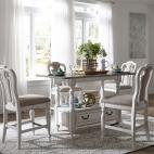 Magnolia Manor 5 Piece Gathering Table Set