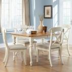 Ocean Isle 5 Piece Rectangular Table Set