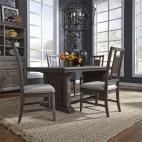 Artisan Prairie 5 Piece Trestle Table Set
