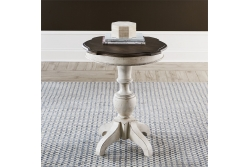 Abbey Road Round End Table