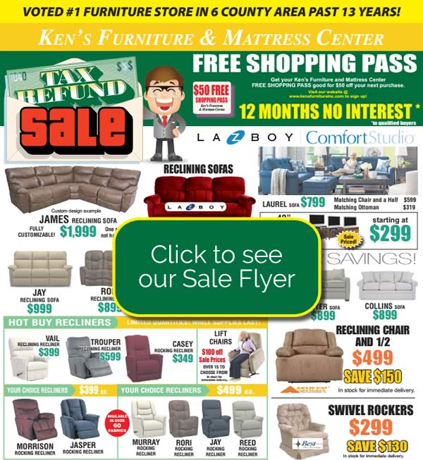 Tax Refund Sale ad